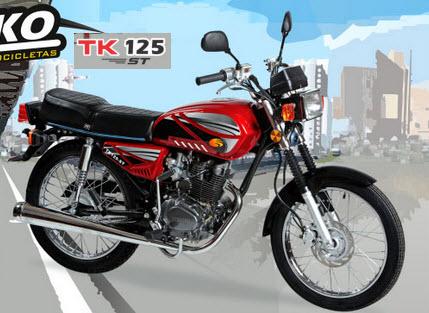 Motocicleta TK 125 ST