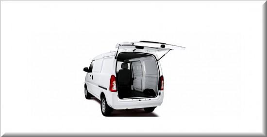 Chevrolet Van N300 capacidad de Carga