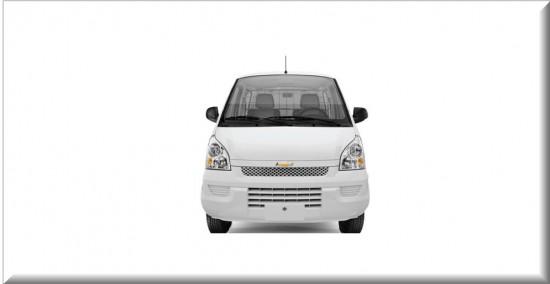Chevrolet Van N300 cargo vista parte frontal