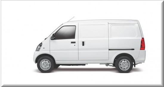 Chevrolet Van N300 vista lateral