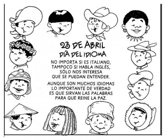 Compartenos tus comentarios a cerca del Día del Idioma que se celebra