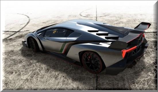 Lamborghini  Veneno  2013, diseño