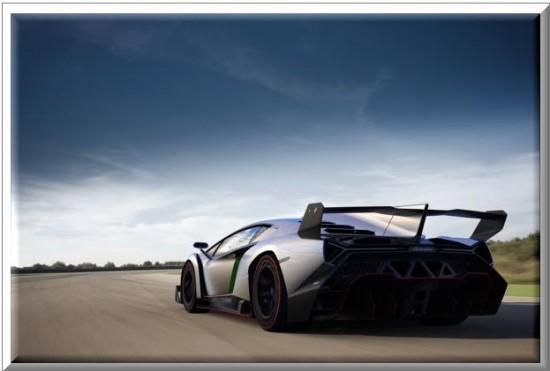 Lamborghini  Veneno 2013, vista parte trasera