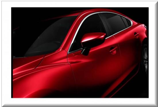 Mazda 6 2014 diseño moderno