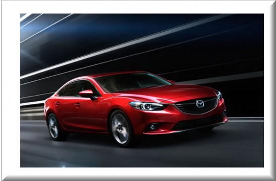 Mazda 6 2014 vista lateral