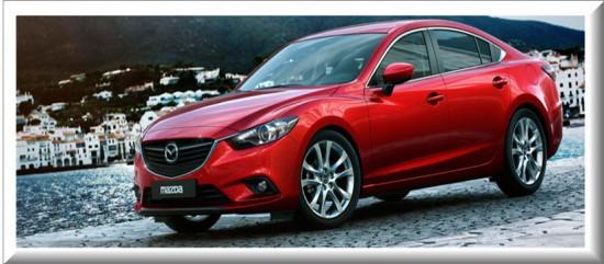 Mazda 6, vista lateral