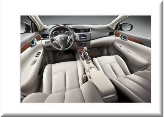 Nissan Sentra diseño interior