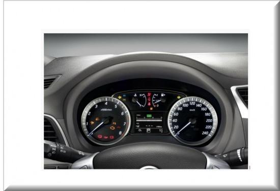 Nissan Sentra tablero de instrumentos
