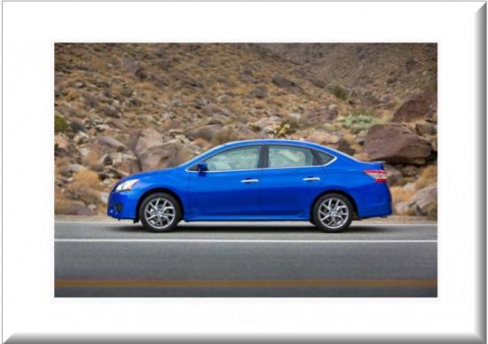 Nissan Sentra vista lateral