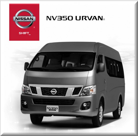 Totalmente nueva Nissan NV350 Urvan. Diseñada para tu negocio