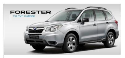 Nueva Subaru Forester X-MODE