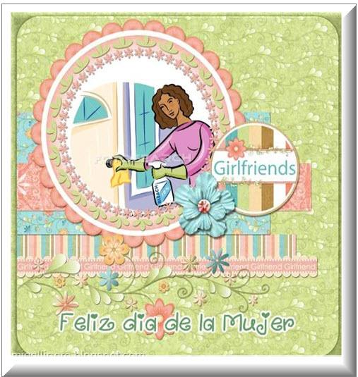 Postales para el Facebook Dia de la Mujer