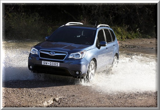 Subaru Forester  X-MODE 2013