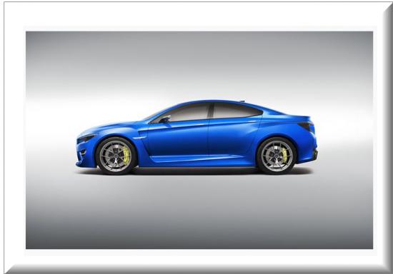 Subaru WRX vista lateral