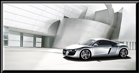 Audi R8, diseño exterior