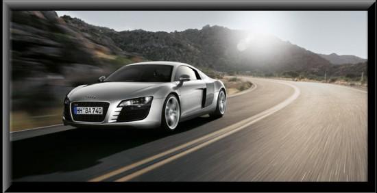 Audi R8, potencia