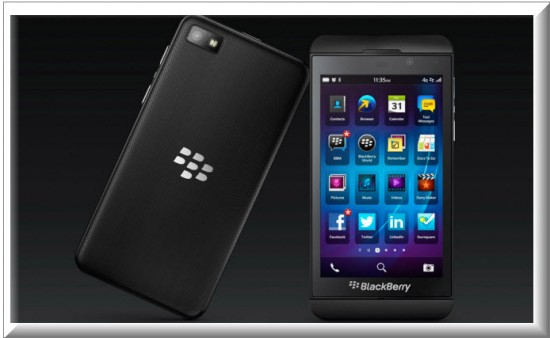 Blackberry Z10 en Colombia