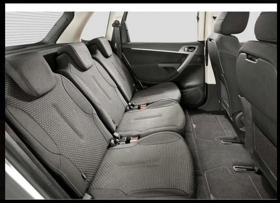 Citroën C4 Picaso 2013 asientos