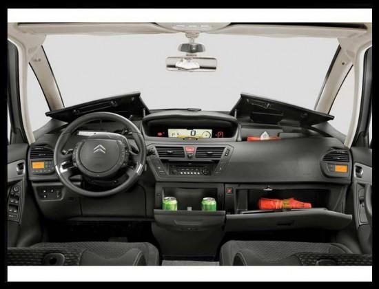 Citroën C4 Picaso 2013 diseño interior