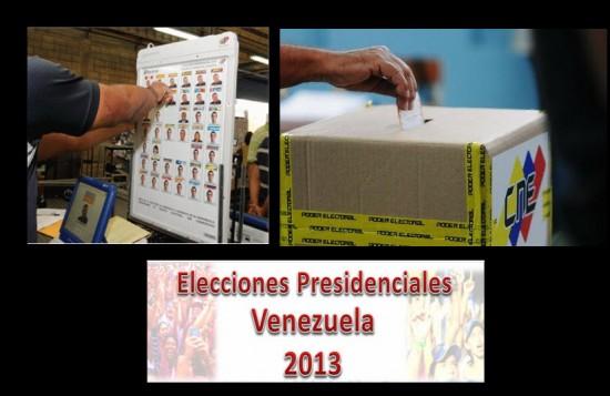 Elecciones en Venezuela 2013