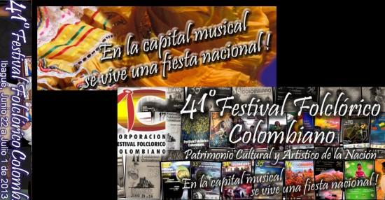 Festival Folclórico Colombiano en Ibagué 2013