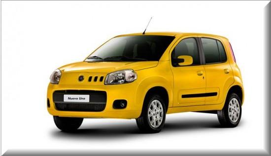 Fiat Uno Taxi, vista lado izquierdo