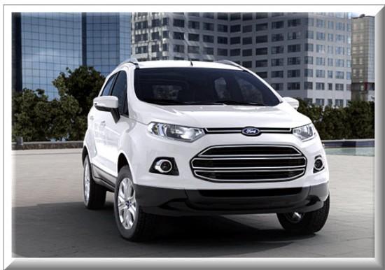 Ford Ecosport Titanium, color blanco