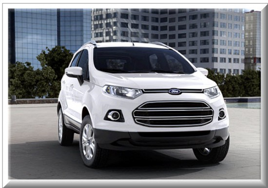Ford Ecosport Titanium, color blanco