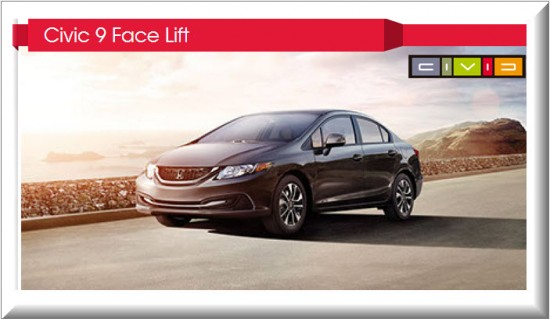 Honda Civic 9 Face Lift
