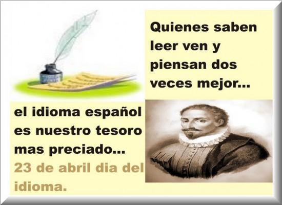 Resultado de imagen para frases del dia del idioma español