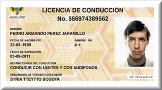 Nueva Licencia de Conducción en Colombia 2013
