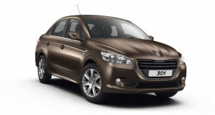 Nuevo Peugeot 301 Sédan 2013