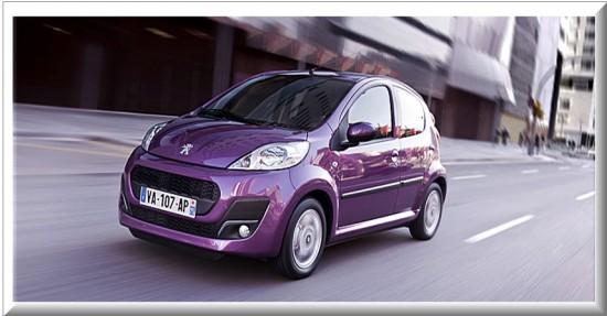 Peugeot 107 5 puertas
