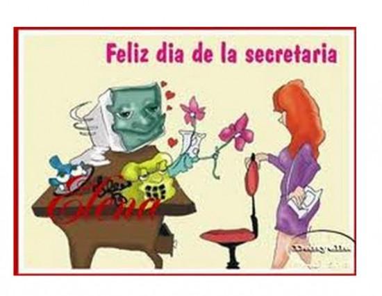 Postales del Día de la Secretaria