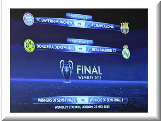 Semifinales de la Champions