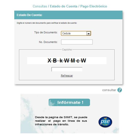 consulta de multas en Colombia 2013