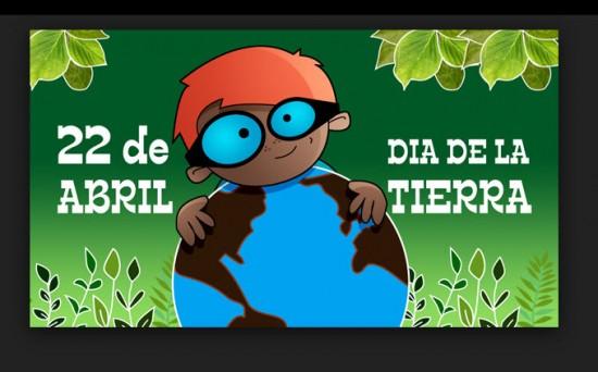 postales del Día de la Tierra