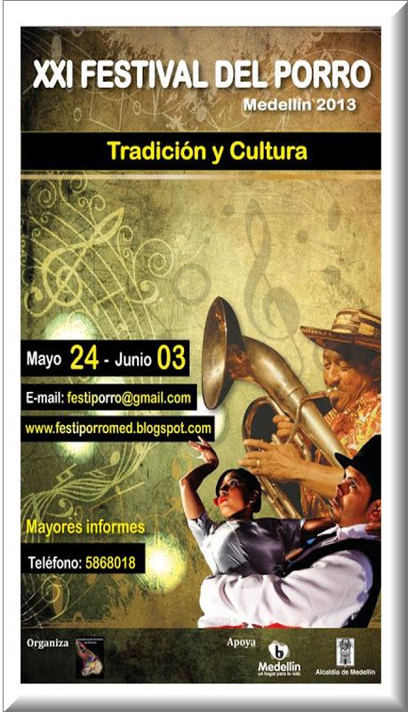 Festival del Porro en Medellin 2013