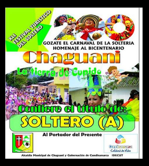 Afiche oficial Festival Turístico del Soltero 2013