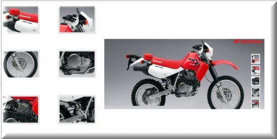 Características Honda XR 650L