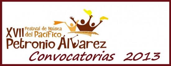 Convocatoria del Festival Petronio Álvarez