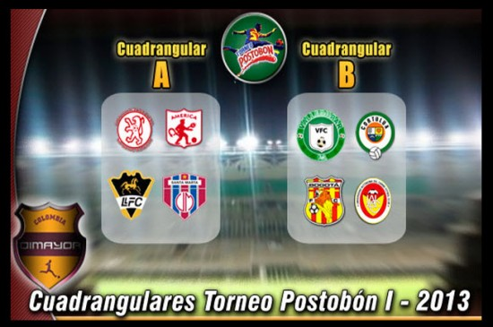Cuadrangulares Semifinales del Torneo Postobón I