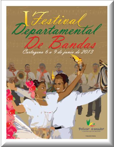 Festival Departamental de Bandas en Cartagena 2013