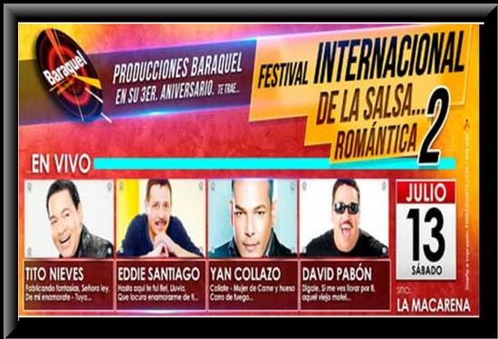 Festival Internacional de Salsa Romántica 2  2013