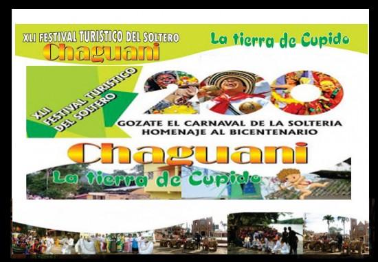 Festival Turístico del Soltero 2013 en Chaguaní, Cundinamarca