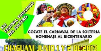 Festival Turistico del Soltero 2013 en Chaguaní, Cundinamarca