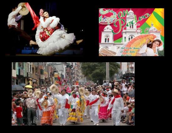 Fiestas de San Pedro en El Espinal 2013