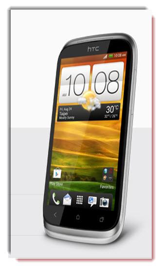 HTC Desire X, diseño exterior