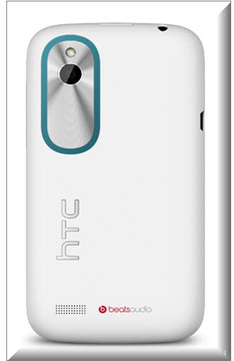 HTC Desire X, vista parte trasera