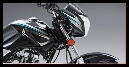 Honda CB125E Power Sport, vista parte delantera